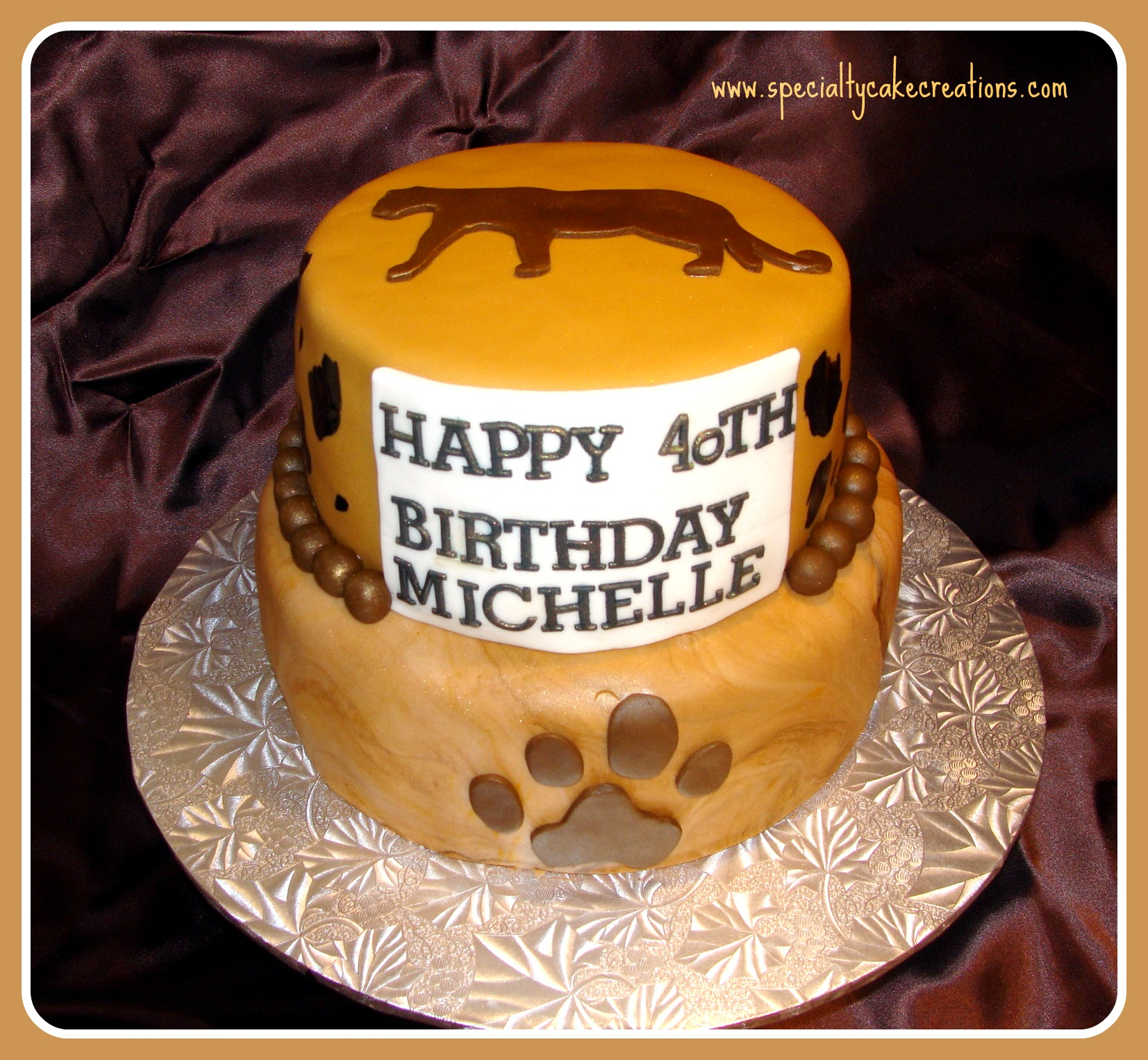 CCougar Birthday Cakes Gallery title=