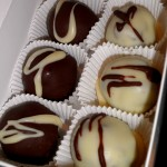 Black and White Cake Truffles