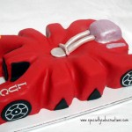 Hot Wheels Lobster Car Cake