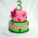Specialty Garden Girl Birthday Cake
