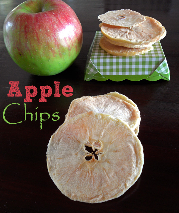 Home-made Apple Chips