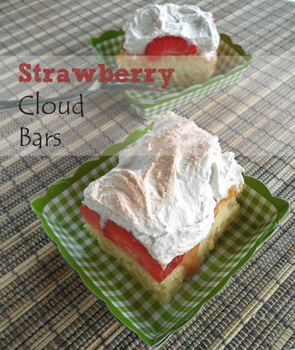 Strawberry Cloud Bars