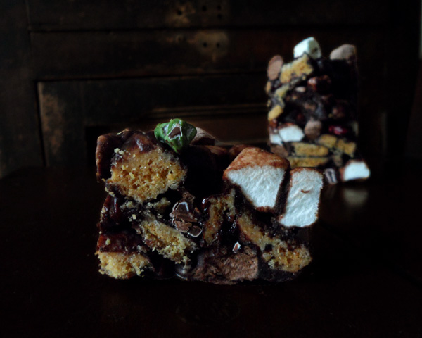 Literally Rocky Road Bars