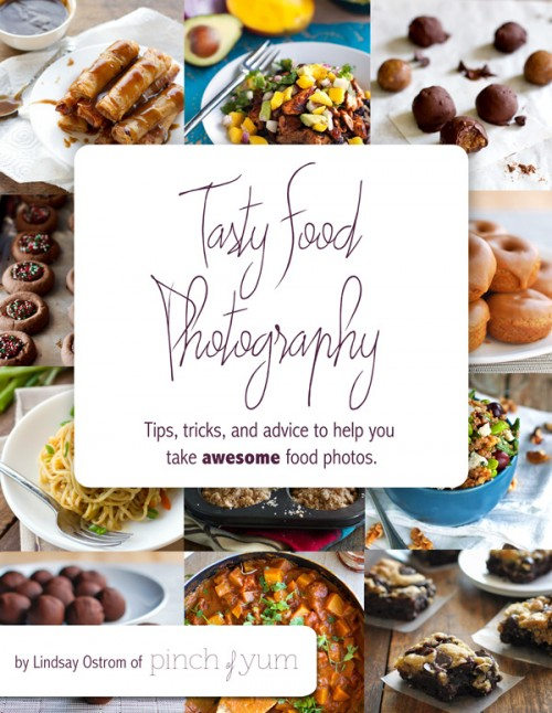 Tasty Food Photography eBook Giveaway | SpecialtyCakeCreations.com