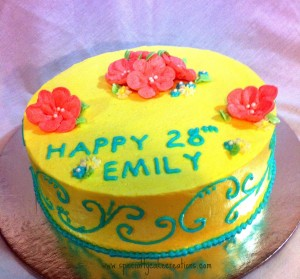 Magnificent Spring Birthday Cake Specialty Cake Creations Funny Birthday Cards Online Alyptdamsfinfo